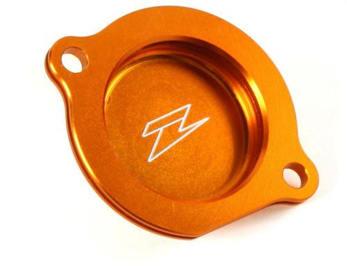 DRC Oil filter cover KTM250 SXF 13-17, 350 SXF 11-17 , 450 SXF 16-17 orange