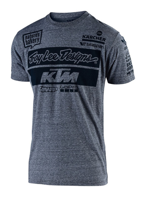 2019 Troy Lee Designs TLD Youth KTM T-Shirt Charcoal