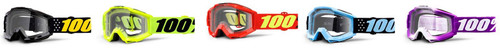 100% Accuri Youth MX Goggles w/Clear Lens