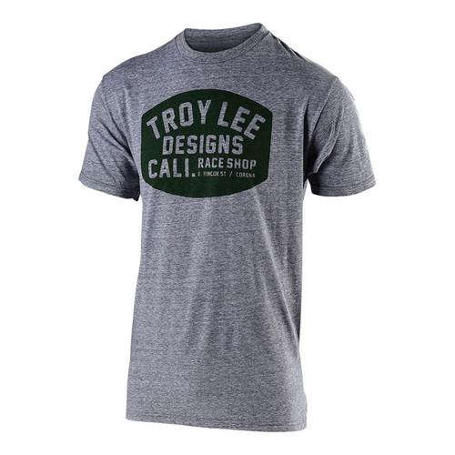 Troy Lee Designs TLD Casual Short Sleeved T-Shirt Blockworks VTG Grey