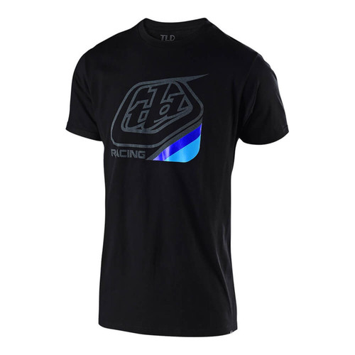 Troy Lee Designs TLD Casual Short Sleeved T-Shirt Precision 2.0 Black