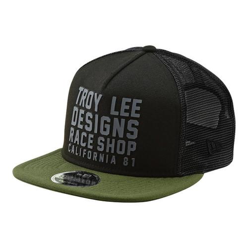 TROY LEE DESIGNS HAT SNAPBACK RC CALI BLACK/GREEN