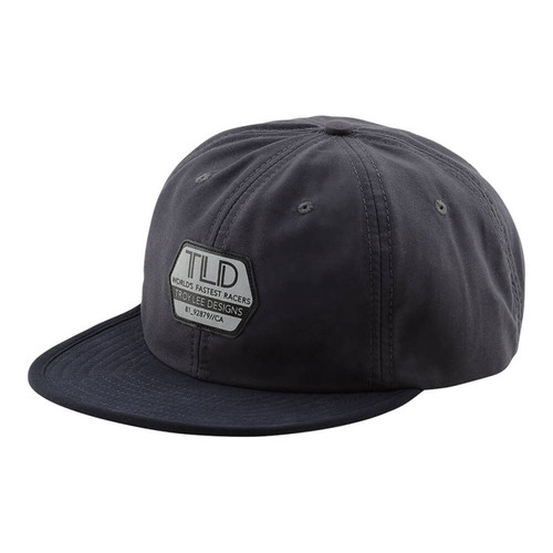 TROY LEE DESIGNS HAT SNAPBACK FACTORY REFLECT PEWTER