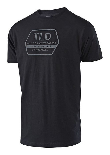 Troy Lee Designs TLD Casual Short Sleeved T-Shirt Factory Black