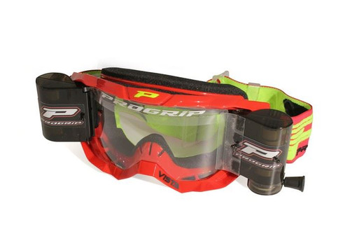 PRO GRIP VISTA GOGGLES 3303 + 48MM ROLL OFF RED/MULTI