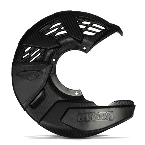 CYCRA FRONT DISC COVER UNIVERSAL BLACK