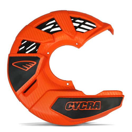 CYCRA FRONT DISC COVER UNIVERSAL ORANGE