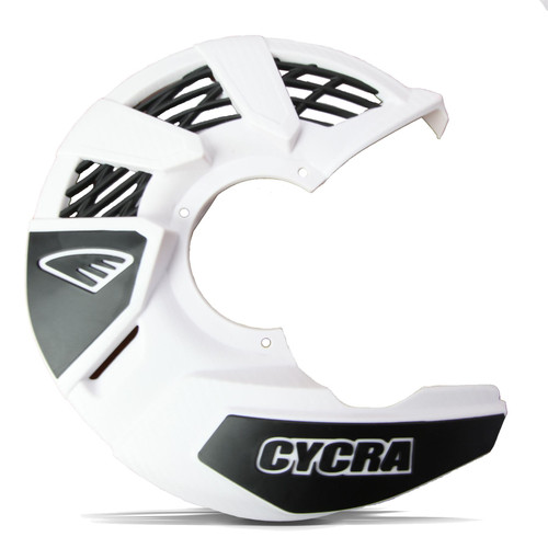 CYCRA FRONT DISC COVER UNIVERSAL WHITE