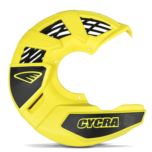 CYCRA FRONT DISC COVER UNIVERSAL YELLOW