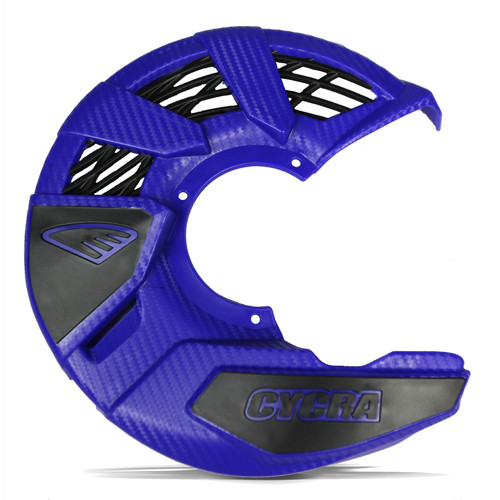 CYCRA FRONT DISC COVER UNIVERSAL BLUE