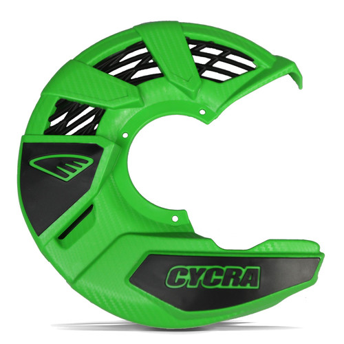 CYCRA FRONT DISC COVER UNIVERSAL GREEN