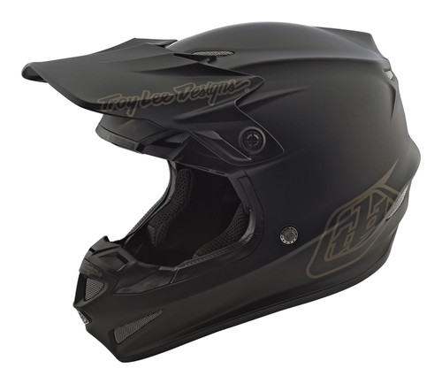 2019 Troy Lee Designs TLD Youth SE4 MX Helmet Mono Black