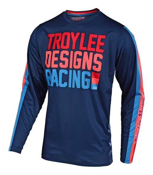2019 Troy Lee Designs TLD Youth GP Air MX Jersey Premix 86 Navy