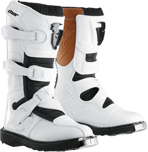 S15 Thor Youth Blitz Boots White