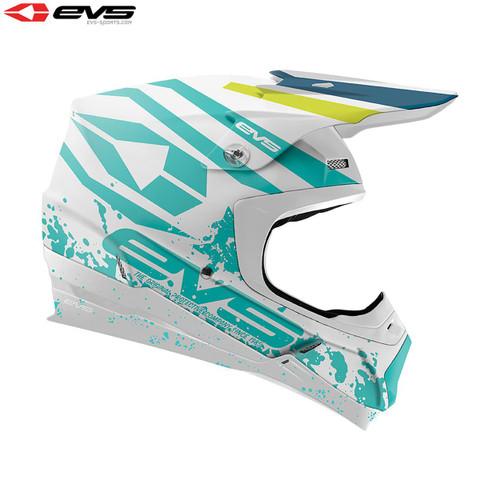 EVS T5 MX Helmet Grappler Matte White