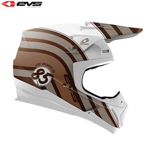 EVS T5 MX Helmet Cosmic Copper