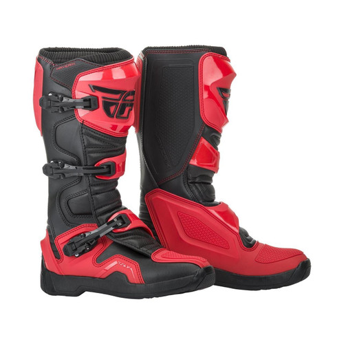 2019 Fly Racing Maverik MX Boots Red/Black
