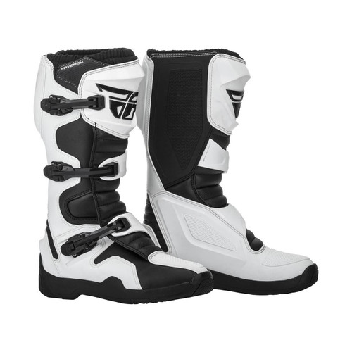 2019 Fly Racing Maverik Boots White