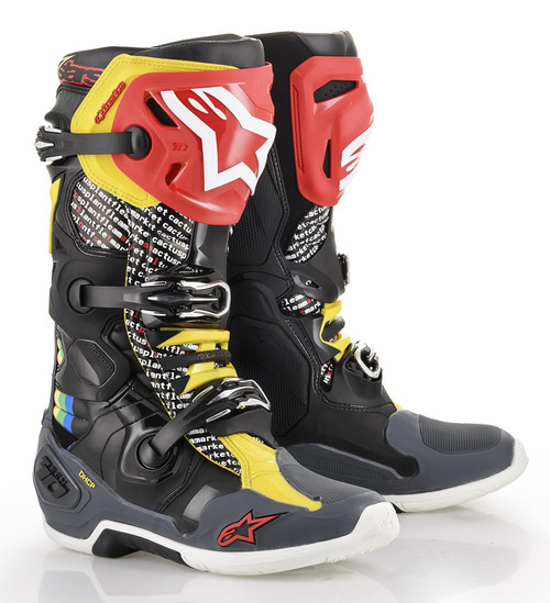 Alpinestars Tech 10 Motocross Boots Limited Edition Cactus
