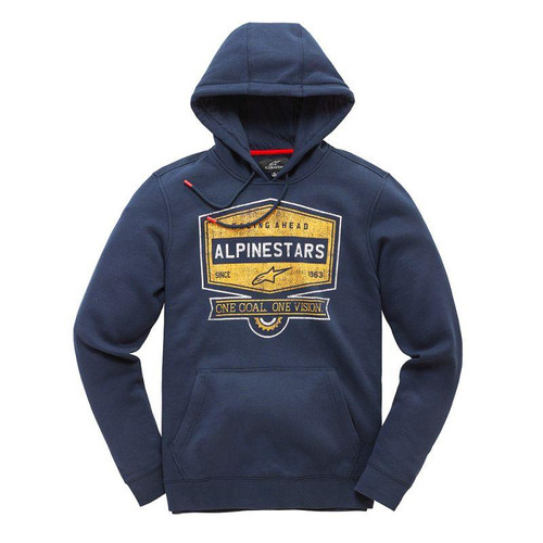 Alpinestars Men's Casual Long Sleeved Hoody Diner Navy