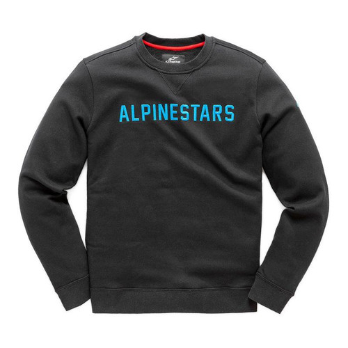 Alpinestars Men's Adult Casual Pullover Hoody Distance Black/Blue