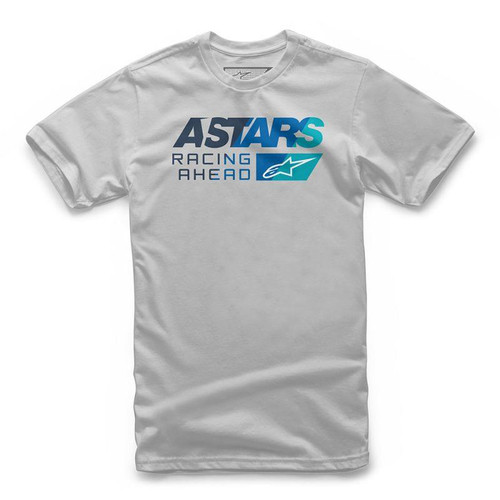 Alpinestars Men's Adult Casual Short Sleeved T-Shirt Pacer Silver