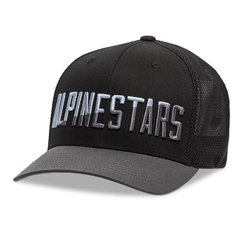 Alpinestars Casual Hat Word Meshback Black