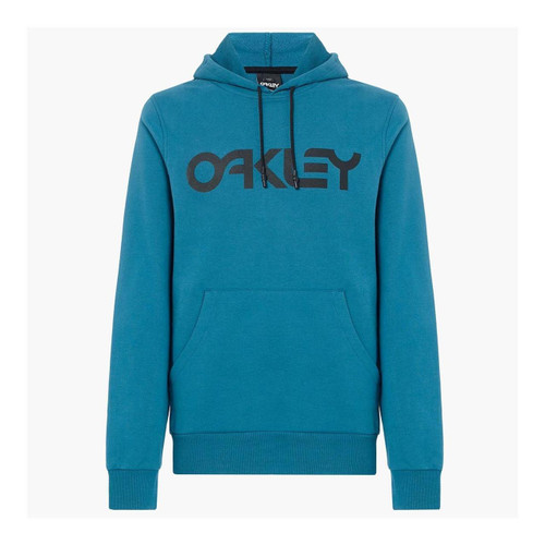 Oakley Men's Adult Casual Pullover Hoody Blue Coral