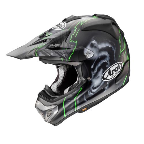 Arai MX-V MX Helmet Barcia Replica Frost Green