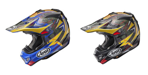 Arai MX-V MX Helmet Brock Tickle Replica