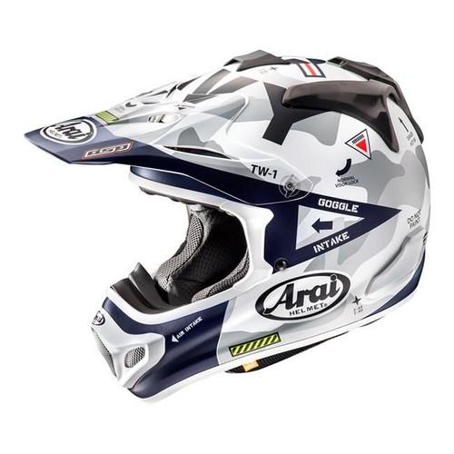 Arai MX-V MX Helmet Navy Blue