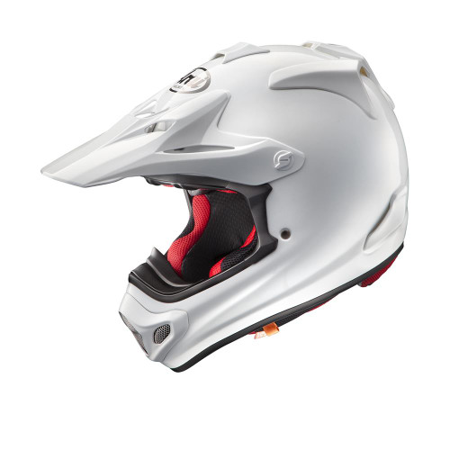 Arai MX-V MX Helmet Plain White