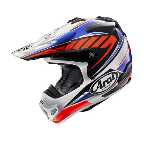 Arai MX-V MX Helmet Rumble Blue