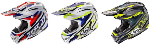 Arai MX-V MX Helmet Slash