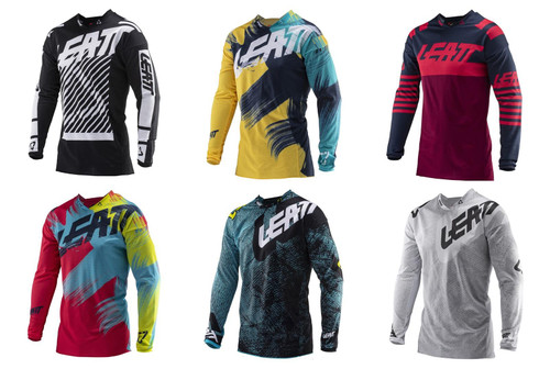 2019 Leatt GPX 4.5 Adult MX Jersey
