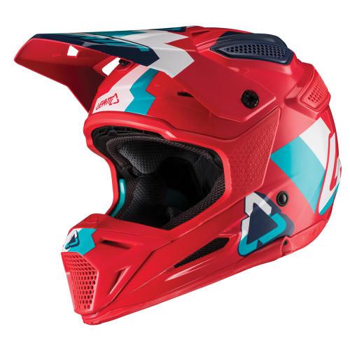 2019 Leatt Youth GPX 5.5 MX Helmet Red/Teal