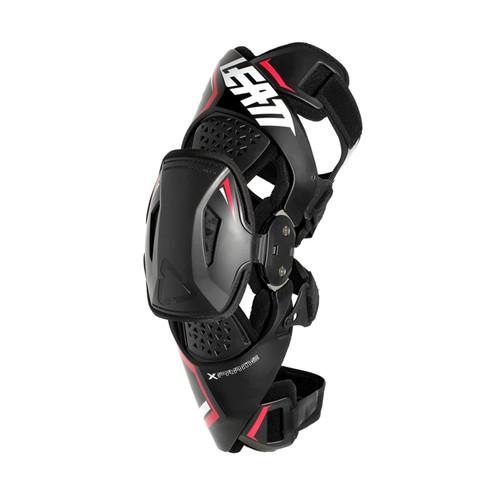 Leatt X-Frame Knee Brace Pair Black/Red