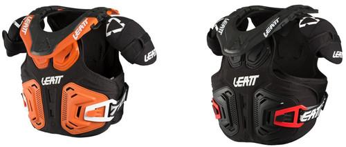Leatt JR Fusion 2.0 Neckvest Black