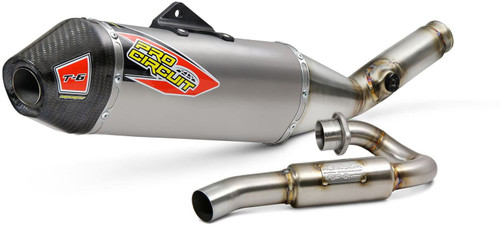 Pro Circuit T-6 Stainless System W/Ti Canister and carbon end cap, KX450 '19 ACU