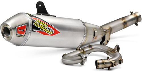 Pro Circuit T-6 Stainless System W/Removable Spark Arrestor YZ250F '2019