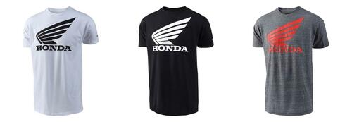 Troy Lee Designs TLD Men's Adult Casual Short Sleeved T-Shirt Honda Wing