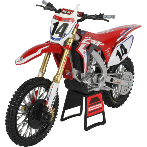 NEWRAY HRC FACTORY RACING TEAM HONDA CRF 450R COLE SEELY 1:12 TOY
