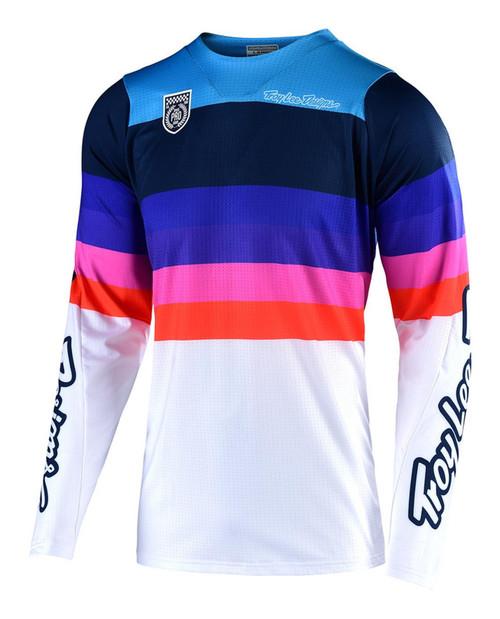 TLD Motocross Jersey SE Pro Mirage White/Navy Men's Adult