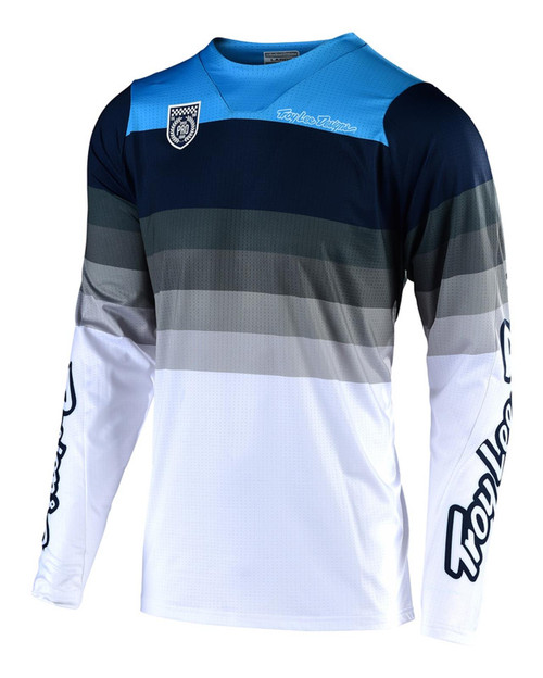 TLD Motocross Jersey SE Pro Fall Mirage White/Grey Mens Adult MX Off-Road