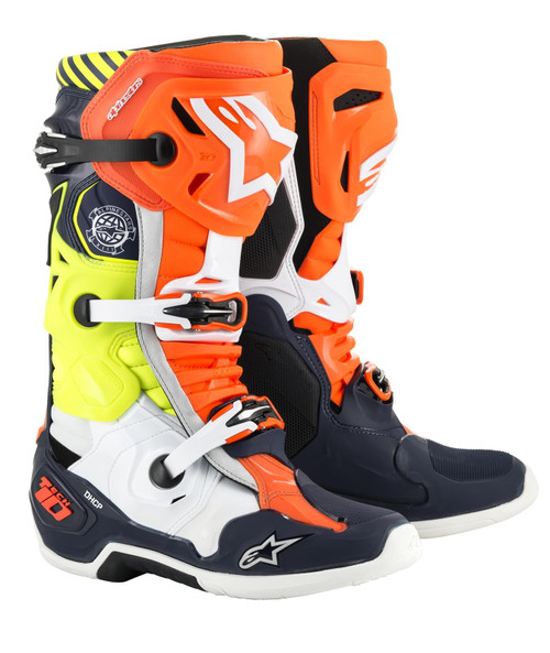 Alpinestars Motocross Boots Tech 10 Nations Limited Edition Union
