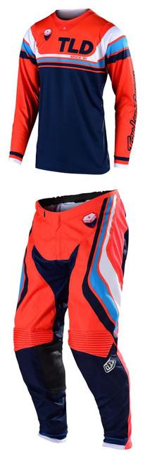 TLD Motocross Kit SE Fall 19 Seca Orange/Dark Navy Men's Adult Combo Gear MX