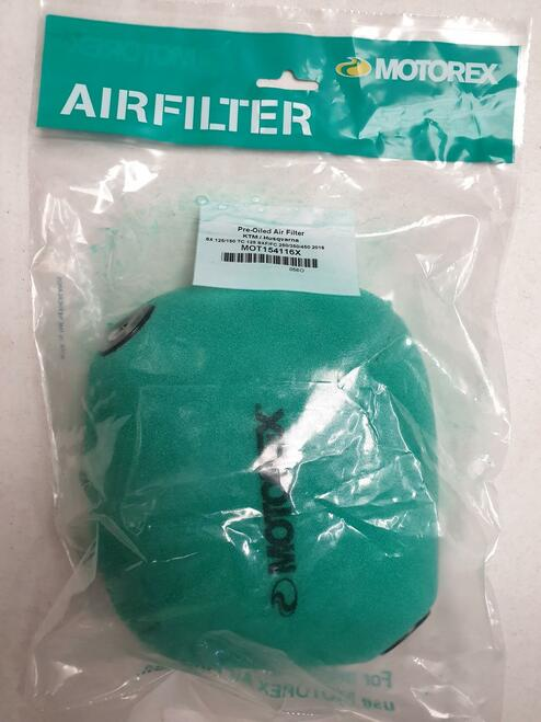 Air Filter KTM SX 125/150 2016/2019 SX 250 2017/2019 SXF 250/350/450 2016/2019 MOT154116X
