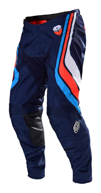 TLD Motocross Pant SE Seca Dark Navy/Orange Fall19 Adult MX