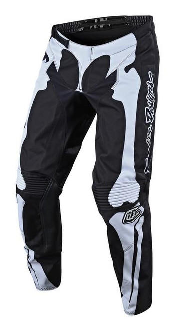 TLD Motocross Pant GP Skully Black/White Adult MX Troy Lee Designs