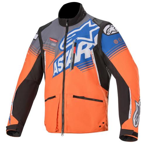 Alpinestars Enduro Jacket Venture R Orange Grey Blue